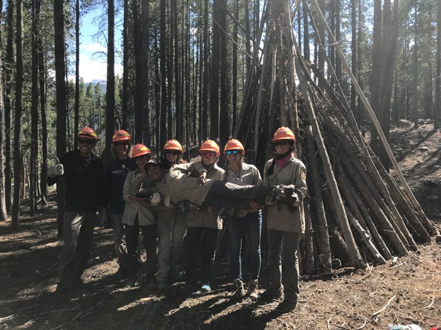 Native Outdoors Rocky Mountain National Park Volunteer Project
