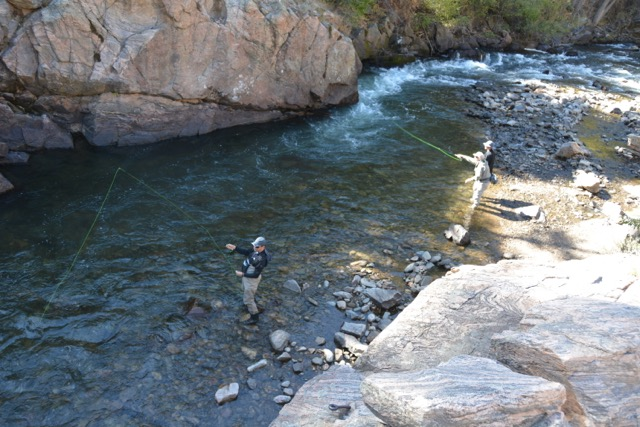 Group Fly Fishing in Denver Colorado