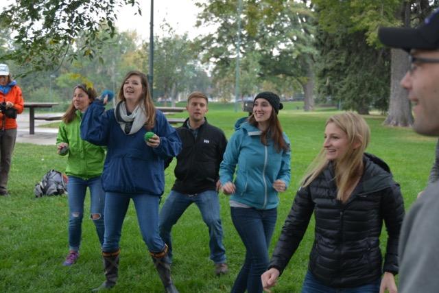 Denver Team Building Activity with Vail Resorts team
